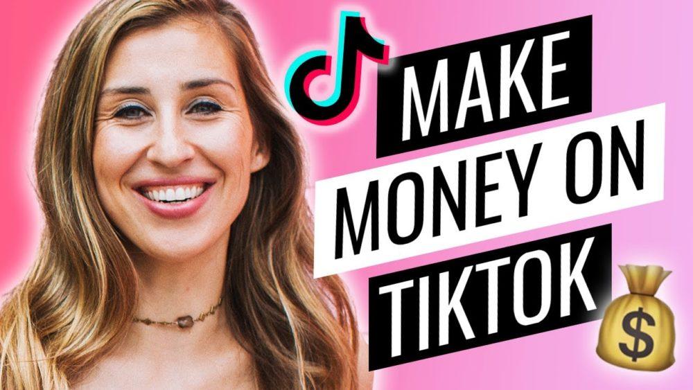 Four ways on how to get money from tiktok